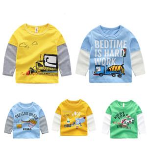 Summer Children Kids Boys T Shirt Cartoon Print Short Sleeve Girls T-shirts Cotton Children T-shirt O-neck Tee Tops Boy Cloth