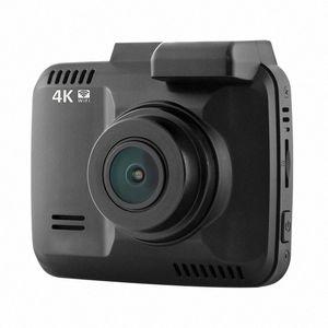 4K GPS incorporato Wifi Car DVR Recorder Dash Cam Dual Lens Rear Vehicle View Camera Videocamera per visione notturna dash cam Q8ND #