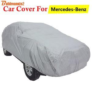 Car Covers Buildreamen2 For GL GL350 GL450 GL500 GL550 GL320 GL420 Cover SUV Outdoor Sun Shade Rain Snow Resistant