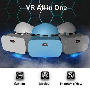 All In One 2K HD WIFI 3D Smart Gözlük Android sistem Sürükleyici Kask makineyi entegre Sanal Gerçeklik Glasses