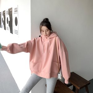 Couples Hoodie Loose-Fit Bf Laziness-Style 2020 New Womens Korean-Style Fashion Students Spring Autumn  40
