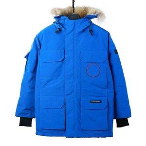 Designer Jacket Vêtements de fourrure hommes à capuchon vers le bas Parkas laine Bomber coupe-vent hiver chauds manteaux de sport en plein air décontracté épais vêtement