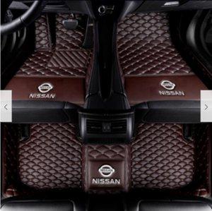 Car Floor Mat Para Nissan Altima, GT-R, Juke, pontapés, Maxima, Murano, Vampira, Sentra, Tiida não-tóxico, sem sabor e fácil de limpar