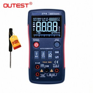 True-RMS Digital Multimeter Button 9999 Counts Auto Manual With Analog Bar Graph AC DC Voltage Ammeter Current Ohm RM409B eAnp#