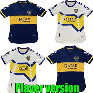 Ayak futbol forması SALVIO TEVEZ De Rossi 2020 2020 ev deplasman Oyuncu gömlek de Player sürüm 20 21 Boca Juniors mavi beyaz Maillots