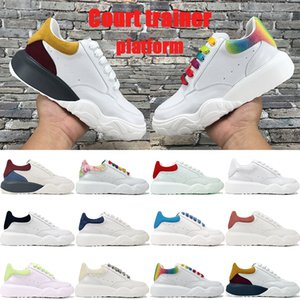 reflective hommes chaussures de designer 2019 chaussures de designer de luxe de mode chaussures de sport Party Platform occasionnels EUR 36-44