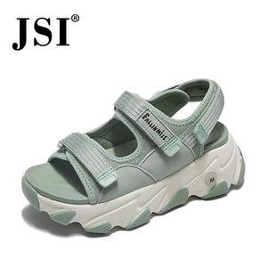 JSI sandálias mulher respirável armadilha um superior sandálias Design Andando mulher hooklock prática jh14 desporto design