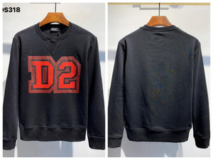2020'li Sonbahar ve kış stil yüksek kalitelidsq2 gevşek tasarımcılar üst Baskı Moda ikonu erkekler M-XXL 9897 # Triko Giyim d2 men mens