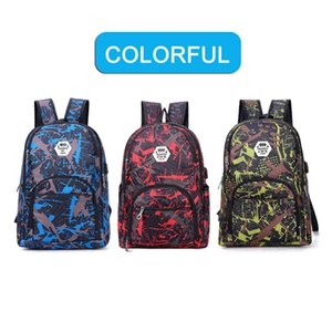 2020 3pcs set Best outdoor bags camouflage travel backpack shoulder computer bag Oxford Brake chain middle school student bag many colors
