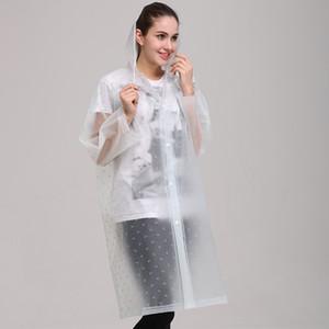 Imprimé personnalisé épaissi randonnée en plein air Voyage d'une seule pièce eva personnalisée imprimée Raincoat imperméable créatif personnalisé