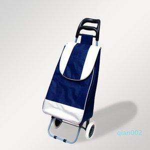 큰 적재 능력, 식료품 4202129 바퀴와 미끄럼 방지 그립 방수 카트 접는 트롤리 쇼핑 카트 경량