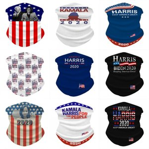 Máscaras elecciones estadounidenses Harris Bufanda mágica Bufanda de ciclo Campaña Harris Biden Bandana deporte al aire libre de protección solar babero de ciclo Cara DHE959