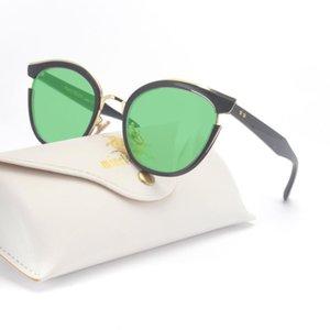 Солнцезащитные очки Роскошные Мода Кошка Женщины Бренд Дизайнер Винтажные Очки Женщина Сексуальное Женское Солнце UV400 FML