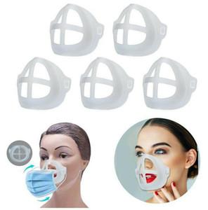 3D-Masken Stents PE Mask-Halter-Unterstützung Atemmaske Assist Innenkissen Bracket Mundmasken Breathventilrahmen GGA3671-5