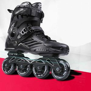 Skates en ligne adulte Skates de rouleau de fantaisie pour hommes et femmes débutants rouleaux à rouleaux professionnels adultes HNYL #