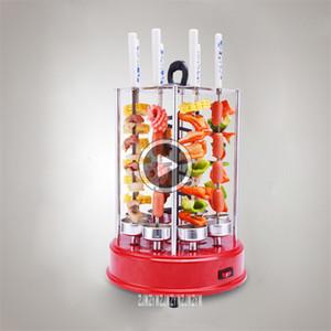 Automatische Drehelektro Vertikal Kea Grill SS-108 Smokeless Rotisserie Edelstahl Grill 1350W 220V 50Z, 2-8 Personen Ray