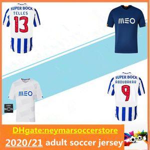 2020 Alex Telles Soccer Jersey 2020 2021 Brahimi Shoya Danilo Infantil Otavio Felipe Augusto Maillot de Football Shirt Uniforme