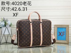 Adam moda markası handba2020 için lüks tasarım erkek dizüstü çantaları crossbody haberci evrak çantası çanta PU deri omuz iş evrak