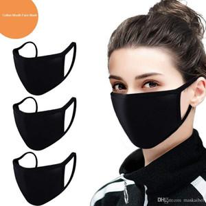 Anti-Dust Cotton Mouth Face Mask PM 2.5 Mask Unisex Man Woman Black White Fashion Cycling Wearing