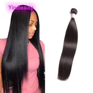 Extensões de cabelo humano brasileiro Um Pacotes Longo Inch 30-40inch não transformados Remy tramas Cabelo Liso 38 36 34inch