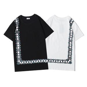2020 hommes Mode femme T-shirt mens designer T-shirts occasionnels hommes manches courtes matériaux de haute qualité T-shirt respirant Taille asiatique S-XXL