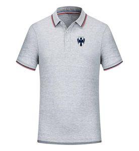 Monterrey Football Team New Men's T-shirt Clothing Golf Polo T-Shirt Men's Short Sleeve Polo Basketball T shirt