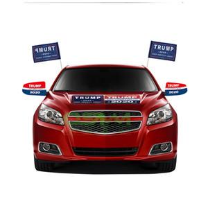 New Trump Auto Adesivi riflettenti Auto rendono America Grande di nuovo 2020 Adesivi Trump American President American Donald Trump Car Banner Sticker
