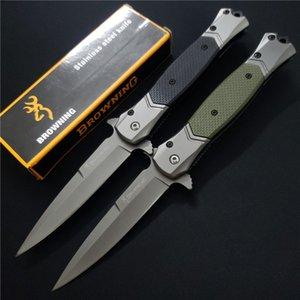 Browning FA52 складной ножа 440C стального лезвие G10 сталь ручка EDC тактические карманные ножи открытых охоты кемпинга Kershaw Launch 8 x49 ножей