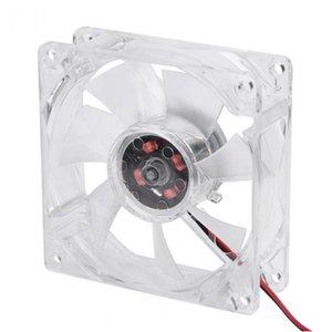 VBESTLIFE 8025 LED 라이트 팬 80mm의 8cm 12V 4 핀 음소거 PC 케이스 팬 컴퓨터 쿨러를 냉각