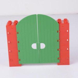 Ladrillos Sistema de DIY Puertas Moc Accesorios Juguetes para niños Ciudad de las ventanas del edificio Compatibilidad de bloque grande Techos marcas Bloque sqcAkG bbgargden