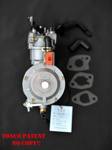 Карбюратор для бензина генератор LPG NG пропана бензина гибридного 2.8KW 2800W 170F