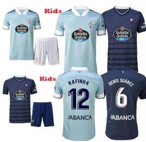 nueva 20 21 RC Celta de Vigo Jersey Fútbol Lobotka Iago Aspas Santl MINA Fútbol