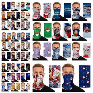 Chirstmas magischen Kopftuchs Outdoor Sports Stirnband Schals Dustpoof Magie Cycing Schal Headwrap schützende Schablonen-Weihnachtsfest-Masken RRA3482