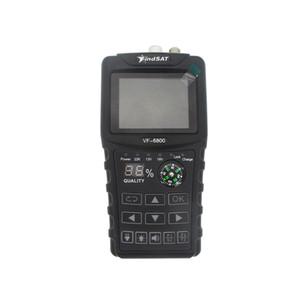 Freeshipping VF-6800 HD Digital Satellite Finder Combo Unterstützung DVB-T2 / DVB S2 / DVB-C Sat-Finder Meter für Satelliten-TV-Empfänger DVB-T2-Tuner