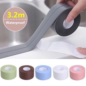 Moderno Fondos de bricolaje Auto adhesivo fronteras del papel pintado del PVC etiqueta de la pared de papel 3D de pared de vinilo papel pintado piso de la cocina de pared de vinilo