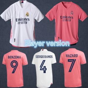 2020 2021 maillots de football Real Madrid 20 21 VINICIUS RODRYGO MODRIC Maillot de foot DANGER JOVIC BENZEMA camiseta de futbol