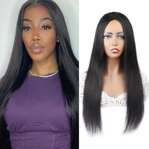 Ishow Brazilian Loose Deep Straight Human Hair Wigs Peruvian Curly None Lace Wigs Water Machine Made Wig Malaysian Body Wave