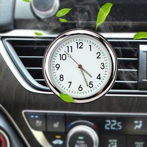 LEEPEE освежитель воздуха Часы автомобилей Украшение Подарки Автомобили Интерьер Светящиеся цифровые часы Автомобильное Vents Клип Auto Watch