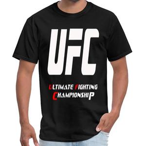 Proyectos UFC Ultimate Fighting Championship hombres de la camiseta de algodón de verano los hombres tigre camisa de rey ocasional más tamaños s-5XL equipo