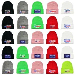 Trump Beanie Donald Trump 2020 tornar a América Quente Great Again Trump Gorro de Inverno Ski Caps Party Hats T2C5267