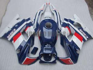 Honda CBR600 F2 1991 1992 1993 1994 CBR600 91 92 93 94 CBR600 F2 91-94 gövde kapağı + cam #BLUE beyaz # 8ZU21 için grenaj seti + hediye