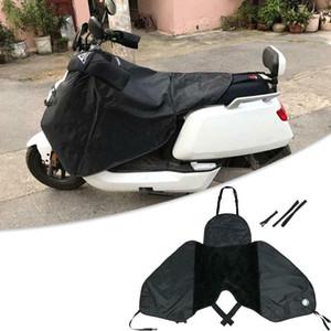 Scooter moto d'hiver pluie Pare-brise Couverture de protection du genou jambe protégée chaud Blanket coupe-vent imperméable pour les scooters