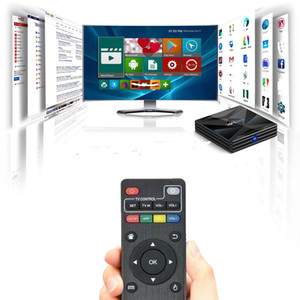 CC1 super Android 9.0 TV BOX RK3318 Smart Set Top Box lecteur HD 4K médias 2.4G 5G WIFI BT4.0