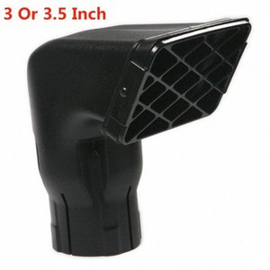 1Pcs 3 или 3,5-дюймовый универсальный водонепроницаемый Впускная, пригодный для дорожного Замена кольматации Snorkel Head воздухозаборника для SUV автомобилей NNFe #