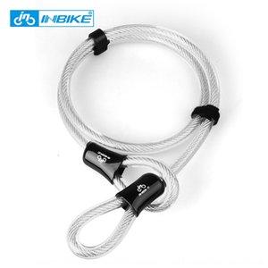 FORMA DE U Cable Electric Vehicle bloqueo antirrobo equipo de ciclismo de la motocicleta de la bicicleta de la motocicleta de bloqueo de bicicletas eléctricas