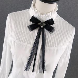 Шея галстуки Британские женщины Bling Hrinestone Bow Gail Gooom Мужчины свадьба Party Pins Butterfly Crystal Bowtie японские JK Classic Electie Cravat