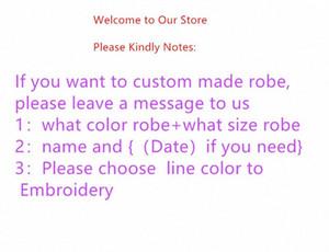 robes de conception de la personnalité Jrmissli personnalisés demoiselles d'honneur et un peignoir de mariage mariée pour les robes de soie des vêtements de nuit des femmes Y200425 Ny3B #