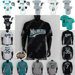 NCAA Florida Baseball Maglia Miguel Cabrera Ivan Rodriguez Dontrelle Willis Derrek Lee Mike Lowell Andre Dawson Gary Sheffield Juan Pierre