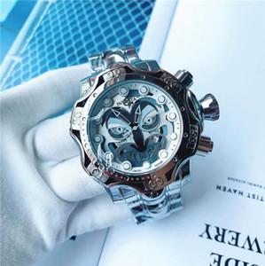뜨거운 판매 좋은 품질 인빅타 모델 : 26790 예약 독 DC 코믹 조커 녹색 스테인레스 스틸 52mm 남성 쿼츠 시계의 새로운