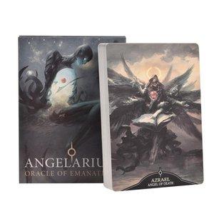 Materiali Giochi Angelarium Pz per i bambini di Adult Entertainment emanazioni Partito Consiglio Tarocchi 33 carte Oracle partito MUJbW mywjqq